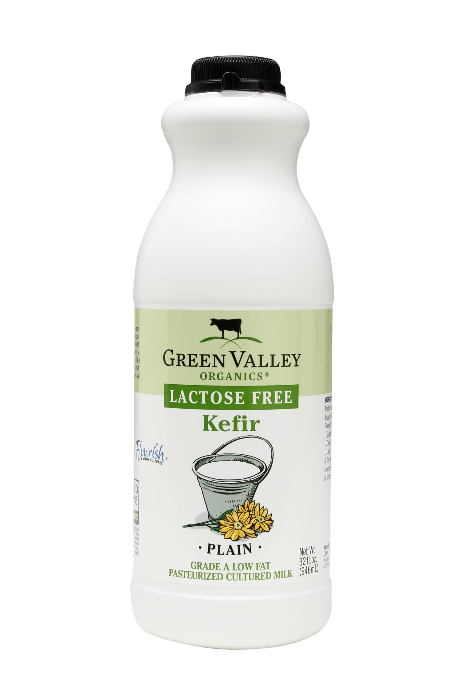 Green Valley Organics lactose-free plain kefir