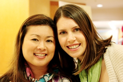 Kim and Stacy, November 2011