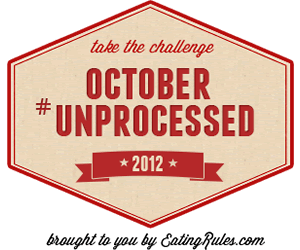 Take the October Unprocessed Challenge!
